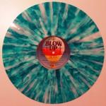 blaue Vinyl