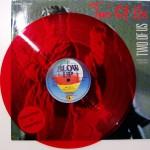 rote Vinyl