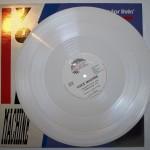 weiße Vinyl